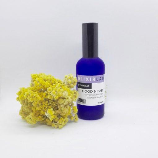 Hydrolat Good Night ElixirLab lotion apaisante pour le soir