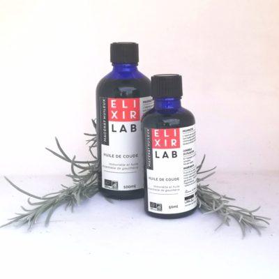 """synergie aux huiles essentielles """"huile de coude"""""""