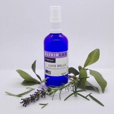 hydrolat Luce Bella ElixirLab lotion 100% bio pour les peaux à imperfections